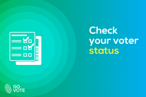 check your permanent voter's card status