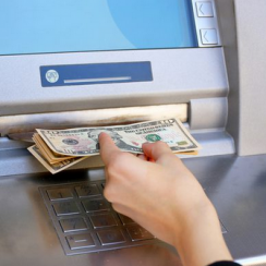 Deposit Cash in an ATM