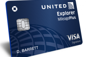 United Explorer credit card
