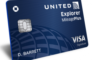 United Explorer credit card
