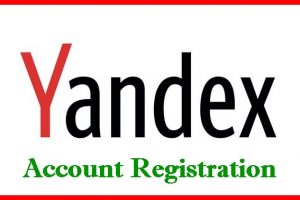 Yandex mail Registration