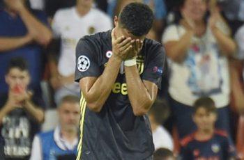 Cristiano Ronaldo Received Red Card Against Valencia