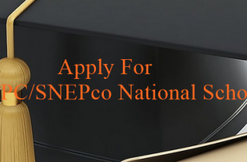2018 NNPC/SNEPco national scholarship