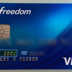 Chase Freedom Credit Card Login