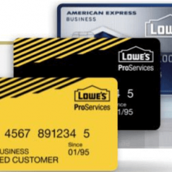 Lowes Credit Card Payment