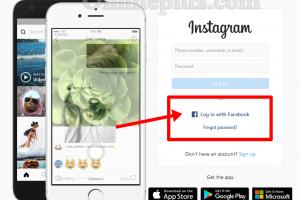 Instagram Login With Facebook