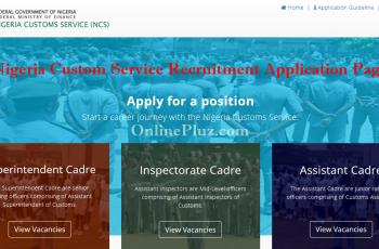 www.vacancy.customs.gov.ng