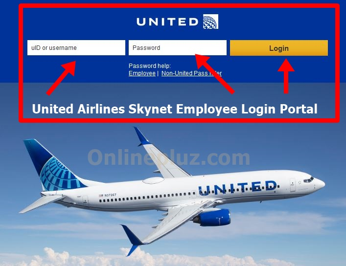 United Airlines Skynet Employee Login @ flyingtogether.ual.com