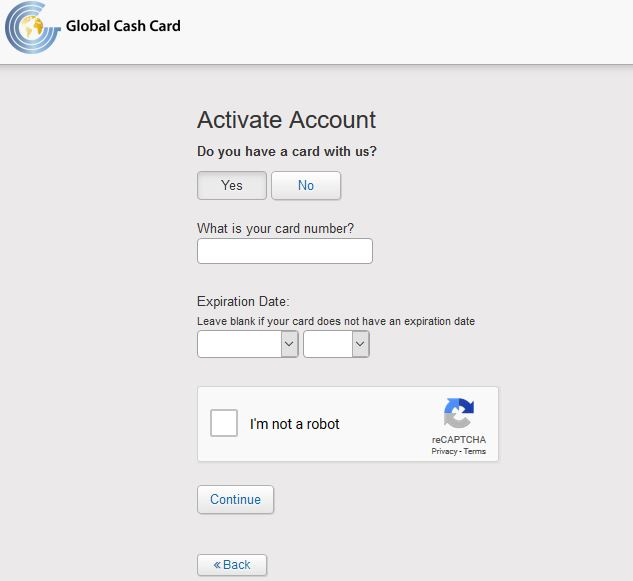 www global cash card com pay stubs